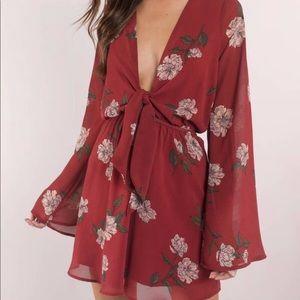 Tobi Floral Dress